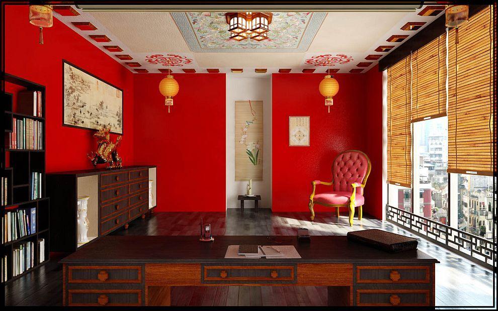 Дизайн интерьера Китай