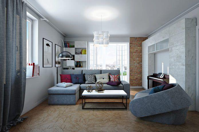 Дизайн-проект 4 комнатной квартиры