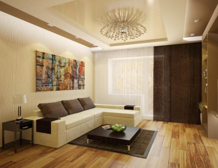 Интерьер гостиной 20 кв.м.в квартире фото