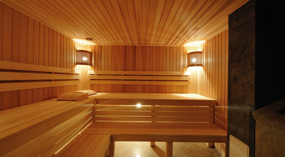 The design of saunas, baths, Hammam
